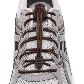 Lock Laces Run Laces marrone